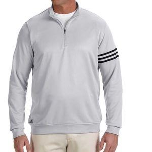 NWOT Adidas Long Sleeve Pull Over Golf Shirt